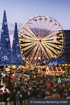 Riesenrad - Duisburger Weihnachtsmarkt