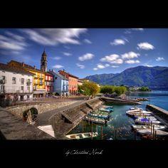 Ascona, Lago Maggiore, Swiss Ticino by Christian Merk