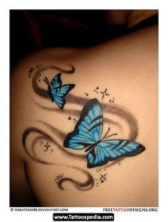 Back Shoulder Tattoos For Women 16 | Tattoospedia
