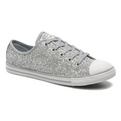 converse chuck taylor all star dainty silver glitter. Black Bedroom Furniture Sets. Home Design Ideas