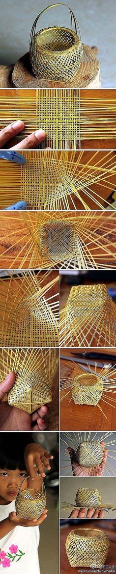 little woven basket