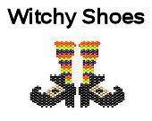 Halloween Brick Stitch Delica Bead Pattern Witch by MigotoChou, $3.00
