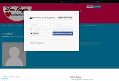 Luv Angle is #WordPress #responsive dating website