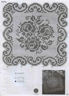 Watch The Video Splendid Crochet a Puff Flower Ideas. Phenomenal Crochet a Puff Flower Ideas. Filet Crochet Charts, Crochet Cross, Crochet Home, Thread Crochet, Crochet Stitches, Crochet Flower Patterns, Crochet Motif, Crochet Designs, Crochet Doilies