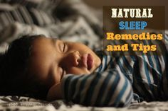 Having Trouble Sleeping? These Natural Tips and Remedies should help remedy the situation. Great for insomnia, getting kids to sleep and waking in the middle of the night.