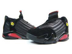 7a757289643221 Air jordan 14 (black   red - last shots)