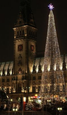 Christmastime in Hamburg, Germany
