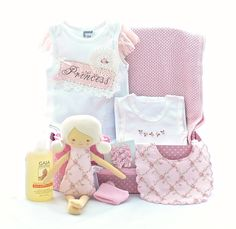 Beautiful princess hamper now available for purchase on line at Sweet Arrivals http://sweetarrivals.com.au/