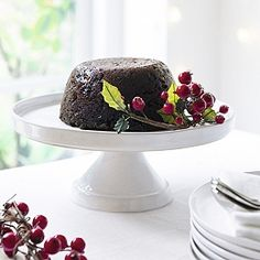 Buy Stoneware Cake Stand - from The White Company