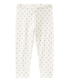 Love this Silver Sparkle Polka Dot Leggings - Infant, Toddler & Girls by Gymboree on #zulily! #zulilyfinds