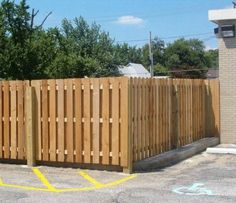 Back Yard Solid Face Wood Fence And Gate Fence