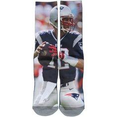 Tom Brady New England Patriots Women's Jersey Socks