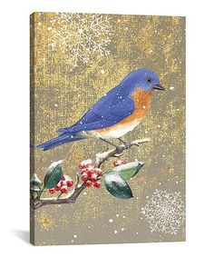 Another great find on #zulily! Bluebird II Wrapped Canvas #zulilyfinds