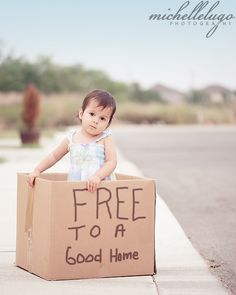 So cute!  I feel like doing this everyday with my girls.    by:  Michelle Lugo Photography/ Just cracks me up! ;)