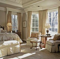 Luxurious Bedroom Buckhead Home