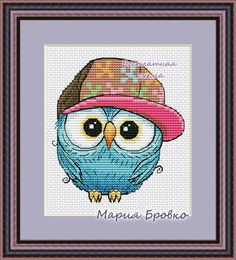VK is the largest European social network with more than 100 million active users. Biscornu Cross Stitch, Cross Stitch Owl, Cross Stitch Cushion, Winne The Pooh, Owl Crafts, Little Owl, Modern Cross Stitch Patterns, Wall Patterns, Diy Wall Art