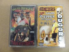 Two SKULL DUGGERY Cassettes These Wicked Streets 3rd Ward Stepper #SkullDuggery #rap #hiphop #cassettetapes #eBay