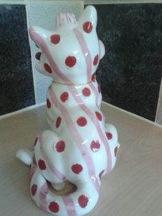 Whimsiclay Amy Lacombe Cat Flamenco | eBay