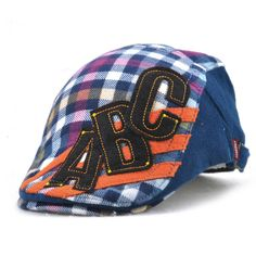 Good-quality Kids Boys Girls Cotton Grid Plaid Letter Cute Berets Hat Patch Flat Cap Casual Outdoor Visor Gorras is cheap, see more kids hats on NewChic. Flat Hats, Hat Patches, Kids Hats, Girls, Boys, Boy Or Girl, Baseball Hats, Plaid, Cap