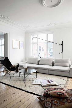 Sillon y alfombra para el salon