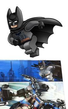 Lego BATMAN new package art by RobKing21 on DeviantArt