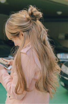 46 Ideas Hair 2018 Trends Korean For 2019 pins Korean Hairstyles Women, Trendy Hairstyles, Fashion Hairstyles, Japanese Hairstyles, Redhead Hairstyles, Hairstyles 2018, Gorgeous Hair, Gorgeous Makeup, Hair Inspo
