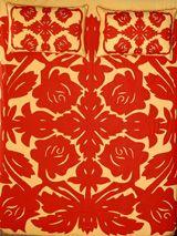 Tivaevae - beautiful Rarotongan applique quilts.