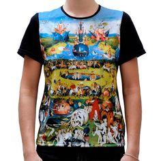 """Bosch """"Garden of Eartlhy Delight"""" Tshirt · Camiseta con el diseño de """"El Jardín de las Delicias"""" de El Bosco · Kessler Museum Merchandising (@Kessler_museum) · #elbosco #bosch #earthlydelights #eljardindelasdelicias #artwork #art #tshirt #fashion #artfashion #museum Clothing, Artwork, Mens Tops, T Shirt, Products, Fashion, Digital Prints, T Shirts, Celebs"""
