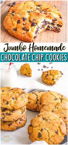 Best Easy Dessert Recipes, Recipes Using Fruit, Recipes With Few Ingredients, Best Cookie Recipes, Easy Desserts, Easy Recipes, Delicious Desserts, Top Recipes, Chocolate Chip Cookies Ingredients