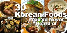 30 Delicious Korean Foods You've Never Heard Of