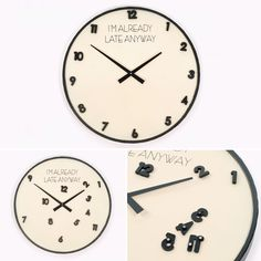 Relógio I'm Already Late Anyway | referência 74070164 | A Loja do Gato Preto | #alojadogatopreto | #shoponline