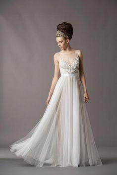 Such an elegant wedding dress by Watters