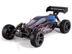 RedCat Racing Rampage XB-E Buggy 1/5 Scale Electric (With 2.4GHz Remote Ctrl.) - BLUE