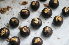 Nutritiously Natalie:: Raw Walnut Brownie Bites