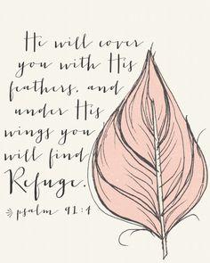 Psalm 91:4 ♡