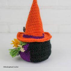 Crochet Witch Gnome - Free Pattern - Winding Road Crochet