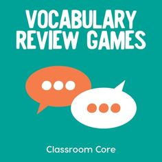 Review any vocabulary in multiple subjects! Aligned to CCSS.Are you looking for fresh ideas to review vocabulary and develop critical literacy skills?Your students will love using this collection of twenty CCSS aligned games and activities to aid with retention and correct usage of new vocabulary words. New Vocabulary Words, Vocabulary Instruction, Teaching Vocabulary, Vocabulary Activities, Literacy Skills, Learning Activities, Teaching Resources, Vocabulary Strategies, Esl