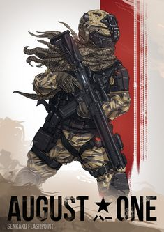 ArtStation - US Marine - August One, Su Wang