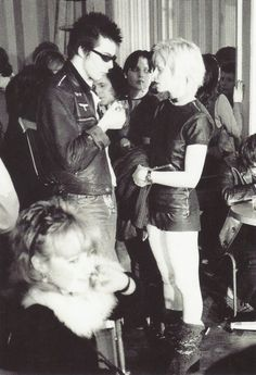-- Sid Vicious and the fabulous Vivienne Westwood