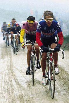 Andy Hampsten, US winner of the Giro d'Italia #cycling