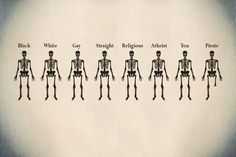 We are all the same. Mostly.
