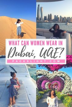 What can women actually wear in Dubai? get advice from a Dubai expat on what to wear where, and when in this fabulous city!