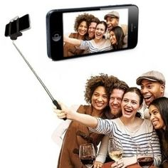 This Selfie Stick helps you to take the perfect selfie! Finally get the whole family in the shot take a self portrait on the perfect occasions. Bluetooth, Polaroid Film, Samsung, Selfie, Phone, Telephone, Mobile Phones, Selfies