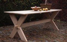 Cross-legged table - Arne Maynard Garden Design