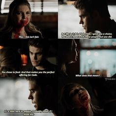 Poor Violet  (8x10) Q: do you wish she stuck around? A: nah she was kinda annoying tbh but she didn't deserve to be killed #rikkiedit #violetfell #stefansalvatore #paulwesley #tvd