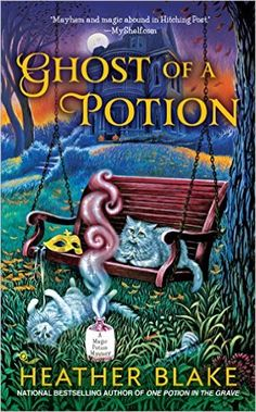 GHOST OF A POTION by Heather Blake -- In the latest from the bestselling author of One Potion in the Grave, it's Halloween in Hitching Post, Alabama, and potion shop owner Carly Bell Hartwell has an especially spooky customer to handle… The Killers, Mystery Novels, Mystery Series, Series 3, Mystery Thriller, Cozy Mysteries, Murder Mysteries, Good Books, Books