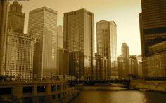 Carte virtuelle Chicago http://www.hotels-live.com/cartes-virtuelles/chicago.html #CartePostale #Wallpaper