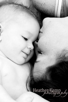 6 month old baby boy with mommy #snuggle