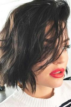 Really Hot Ideas To Style Shoulder Length Hair With Bangs ★ Edgy Short Hair, Short Hair With Layers, Short Hair Styles, Medium Hairstyles, Hairstyles With Bangs, Pretty Hairstyles, Shoulder Length Hair With Bangs, Cut And Color, Hair Lengths