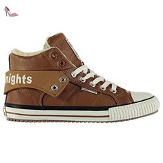 Roco, Baskets Hautes Homme, Marron (Cognac), 45 EUBritish Knights